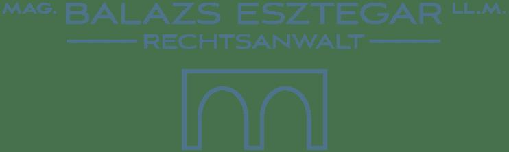 Mag. Balazs Esztegar Kanzleilogo 1080 Wien